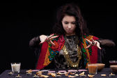 Portrait of fortune-teller — Stock Photo