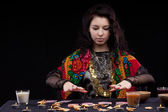 Portrait of fortune-teller — Stock Photo