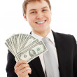Man with money — Stock Photo #5029830