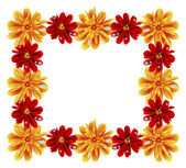 Květinový rámeček — Stock vektor