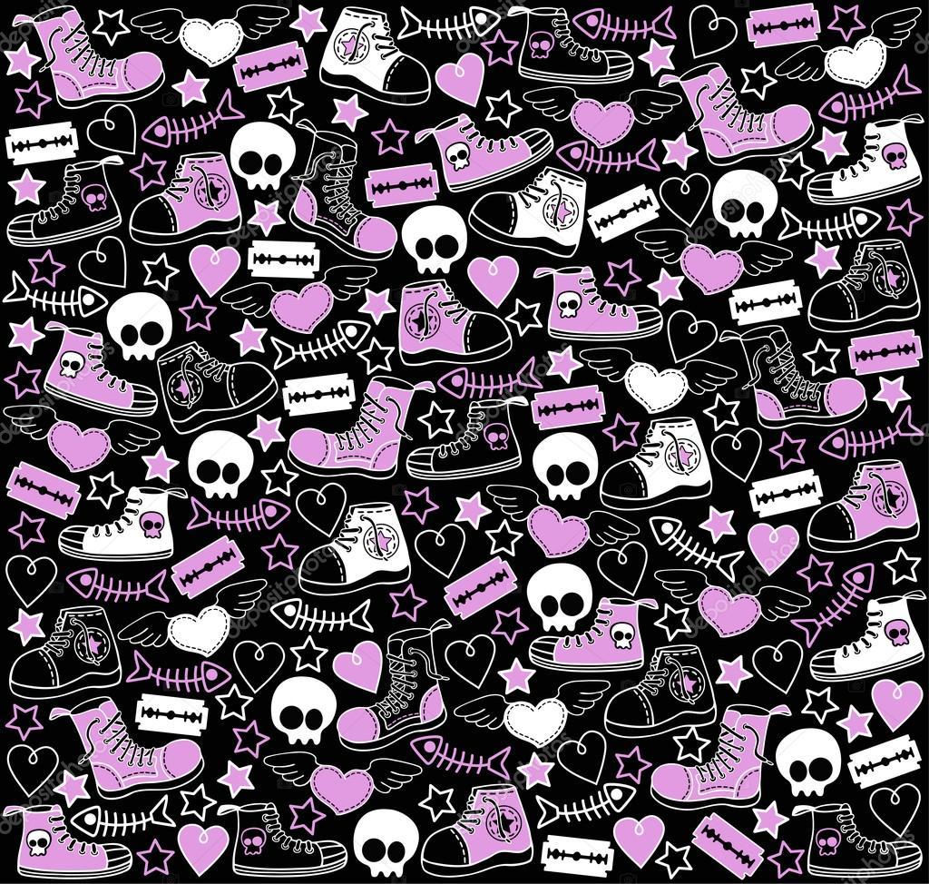 Wallpaper For Tween Girls: Stock Vector © Vlada13 #21061271