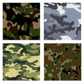 Military backgrounds — Stock Vector