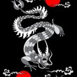 Royalty-Free Stock Vector Image: сhinese dragon