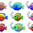Fishes — Stock Vector #21206217