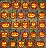 Fond minable halloween — Vecteur