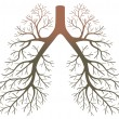 Lung patients — Image vectorielle