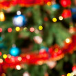 Christmas fir-tree on a background — Stock Photo