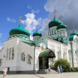 Holy Trinity Cathedral . The Raifa Bogoroditsky Monastery, Kazan - Stock Photo