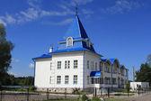 Casa del pellegrino. il monastero di bogoroditsky raifa, kazan, — Foto Stock