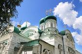 Holy Trinity Cathedral . The Raifa Bogoroditsky Monastery, Kazan — Stock Photo