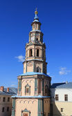 Belltower of the Peter and Paul cathedral. Kazan — Stock Photo