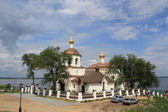 Church in honour of saints Constantine and Helen in Sviyazhsk — Foto de Stock