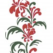 Royalty-Free Stock Imagen vectorial: Red flower