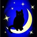 Dreaming cat — Stock Vector #2885616
