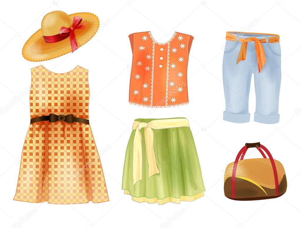 http://st.depositphotos.com/1001046/3004/v/950/depositphotos_30040589-set-of-summer-clothes-for-girls.jpg