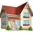 Illustration of house - Imagen vectorial