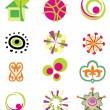 Set of vector design elements — Stock Vector #28475891