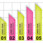 Vector chart — Stock Vector