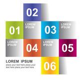 Modern design element template — Stock Vector