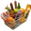 Stock Photo: A shopping basket