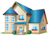 Illustration of house — Stock Photo