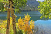 Silent picturesque Gulllake in the USA — Stock Photo
