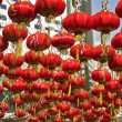 The Chinese city in New year — Stock Photo