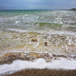 Stock Photo: Storm on Dead Sea