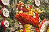 Chef för den välkända kinesiska draken — Stockfoto