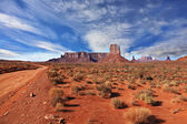 The Navajo Reservation in the U.S. — Stock Photo