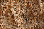 The clay surface of breakage — Stock Photo