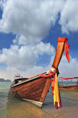 Thai boat for tourists — Stock Photo