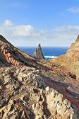 In the distance is blue Atlantic Ocean — Stock Photo