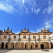 Portugal. Beautiful inner courtyard — Stock Photo