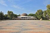 Art museum with a circular dome — Foto de Stock