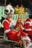 Charming Chinese dancer — Stock Photo