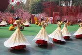Gruppo di ballo di ragazze — Foto Stock