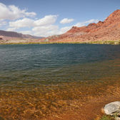 The water of the Colorado River — Stock Photo
