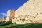 The ancient walls of the eternal Jerusalem — Stock Photo