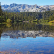 """Mammoth Lake among the mountains - Foto Stock"
