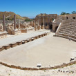 The Roman amphitheater in Beit Shean - Stock Photo