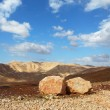 Huge boulders along highway - Foto Stock