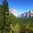 The rocky monolith in Yosemite - Foto Stock