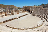 The Roman amphitheater in Beit Shean — Stock Photo