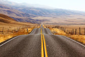 California, American road — Stock Photo