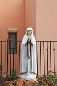 A imagem escultórica da donzela maria — Fotografia Stock