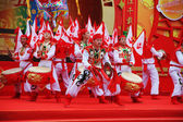 The concert dance folk ensemble. — Stock Photo