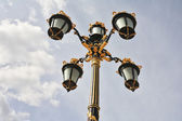 Lanterns in the Baroque style — Stock Photo