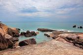Spiaggia di lamai dopo una tempesta — Foto Stock