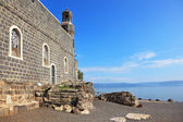 One of the oldest churches in the Sea of Galilee — Stock Photo